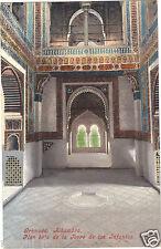 Espagne - cpa - GRANADA - Alhambra - Piso bajo de la Torre de las Infantas