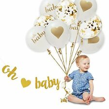 OH BABY! Baby Gender Reveal Decorations Tableware Favours Shower Party Supplies