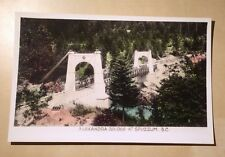 Canada BC Alexandra Bridge at Spuzzum Gowen and Sutton Made in Canada w. Stamp