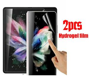 Screen Protector Cover For Samsung Galaxy Z Fold 3 TPU HYDROGEL FILM - Clear