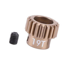 RC Car Gears Motor Pinion Gear 19T for 1:10 RC Vehicle Models Accs
