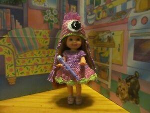 Mattel Kelly Doll Barbie Little Sister W/ Handmade Dress