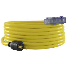 Conntek 20311-025 L5-30P to (3) 5-15R 30 Amp Generator Convenience Cord, 25ft.