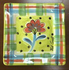 Vicki Carroll Studio Square Salad Plate, Fine and Dandy
