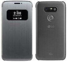 LG G5/G5 SE Mesh Folio Flip Protective Wallet Case Cover Mobile Titan Black