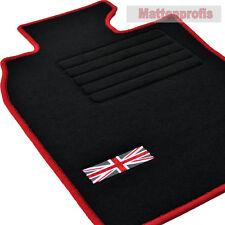 Alfombrillas profesionales gamuza tapices Edition para mini r50 + r53 a partir de año 06/2001 -2006 ro
