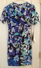 NWT Peter Pilotto Womens Dress Size S Small Purple Floral Print