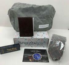 NEW SprezzaBox Mens - Necktie, Dopp Kit, Bryer Slim Wallet & Cologne