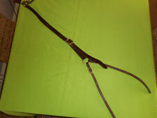 Daisy Rein brown leather lightly used FAST POSTAGE TACK