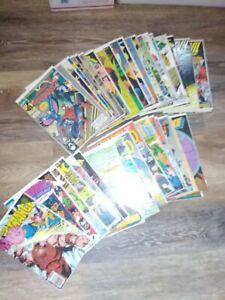 MARVEL- Lot of 40 Comic Books Spider-Man, Dracula, Hulk, Silver Surfer.