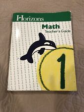 Horizons Math 1 Teacher Guide