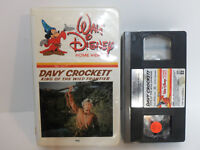 Vintage Walt Disney Original Davy Crockett 1st Edition Clamshell VHS Movie