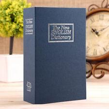 BUCHSAFE Tresor Buchtresor Buch Geldkassette Safe Buchattrappe Geldversteck DE