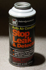 Perfectly Preserved! Interdynamic R12 Auto A/C Stop Leak & Detector, 4oz Can