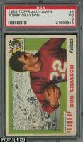 1955 Topps All American Football #5 Bobby Grayson PSA 3 VG