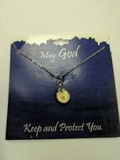 Made in USA Christian MUSTARD SEED Faith Pendant & Necklace charm + verse