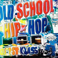 DJ 1st Klass Old School 80's Hip Hop Classics NYC NJ Mixtape MIX CD Set