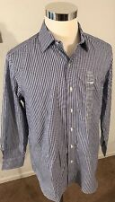 TOMMY BAHAMA MENS 16-32/33 100% COTTON BUTTON FRONT LONG SLEEVE SHIRT