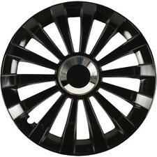 4x ALBRECHT Radkappen Radblenden MERIDIAN BLACK SCHWARZ 16 Zoll (4 Stück)