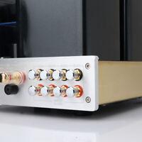 8PCS Hi End Brass PTFE Noise Stopper Rhodium Plated Copper RCA Plug Caps