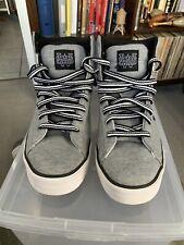 Nike Sweet Classic High Sz10 416169-024 Light Grey/ Black/ White
