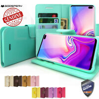 For Samsung Galaxy S10 Plus, Note 10+ 5G Case Ultra Slim Stand flip wallet Cover