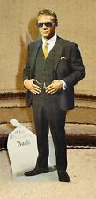 "Steve McQueen From ""Thomas Crown Affair"" Tabletop Display Standee 10 1/2"" Tall"
