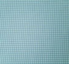 Best Friend Bunnies by the Bay BTY VIP Exclusive Tonal Blue Windowpane Plaid