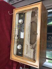 Vintage Rare Grundig Model Model 2066 Ox Tube AM/FM/SW Tube Radio Repair/parts
