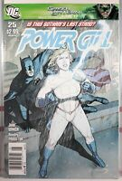 💥 POWER GIRL #25 NEWSSTAND VARIANT 2011 DC COMICS BATMAN Gotham Harley Quinn