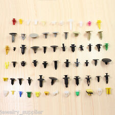 500Pcs Car Fender Panel Bumper Clutch Assorted Plastic Rivet Fasteners Push Pin