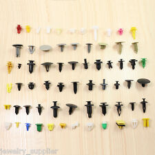 Lot 200pcs Car Various Plastic Rivet Fastener Push Pin Trim Moulding Clip Panel