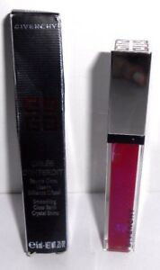 GIVENCHY GELEE D' INTERDIT GLOSS BALM # 4 VIBRANT FUCHSIA ( boxed ) full size