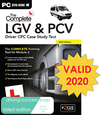 Lorry / Bus / Coach Driver CPC Case Study Test PC DVD-ROM