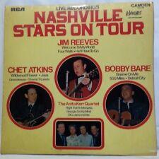 NASHVILLE STARS ON TOUR - vintage vinyl LP - Live Recordings