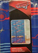 Disney Cars Vinyl Shower Curtain NEW
