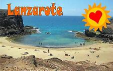 Lanzarote Fridge Magnet Holiday Gift Holiday Post Card Shape Magnet