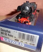 Gützold 49100 H0 Dampflok BR 52 8200-9 Reko DR Epoche 4 mit DSS, BW Bautzen, OVP