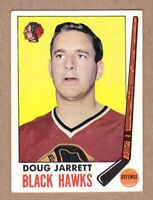 1969-70 Topps #67 Doug Jarrett Chicago Black Hawks EX-MT condition