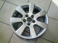 Original Opel Alufelge  6 x 16 *  LK 5/110  *  ET44  *  Astra G  *  Zafira A