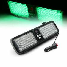86 LED Sun Shield Emergency Hazard Windshield Visor Strobe Light Flash GREEN