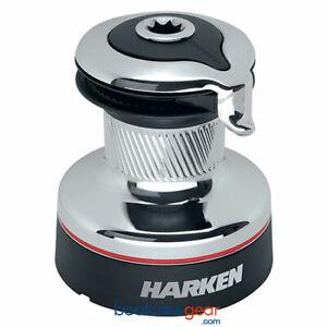 Harken 35 Self-Tailing Radial Winch — 2 Speed Chrome