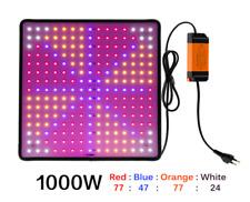 GROW LED 🌿  Lampada led sottile per crescita piante spettro completo 1000W