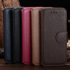 Lusso Originale Custodia Protettiva Portafoglio In Pelle per iPhone 5 5s 6