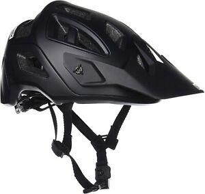 Leatt 1017110352 DBX 3.0 All-Mountain Mountain Bike Open-Face Helmet Black Large
