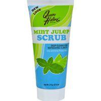Queen Helene Refreshing Natural Facial Scrub Mint Julep - 6 oz