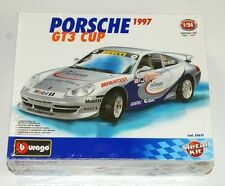 Burago 1997 Porsche GT3 Cup 1:24 Scale Die Cast Metal Model Kit NEW Rare Italy