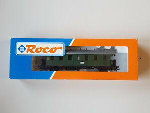 """Roco 44201 Personenwagen """"Donnerbüchse"""" 3 Kl. mit KKK"""