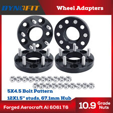5X4.5 Hub Bore Wheel Spacers 67.1mm For Jeep Patriot Compass Hyundai Genesis