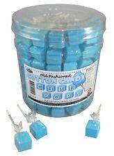 Cotton Candy Gum Cube Lollipops - 100 Ct Tub